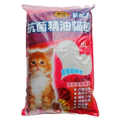 祥寶 抗菌精油貓砂 (5Lx4包)