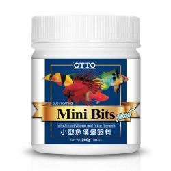 OTTO奧圖 小型魚漢堡顆粒飼料 100g x 2