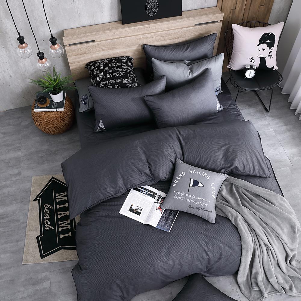 OLIVIA  Nelson  標準雙人床包冬夏兩用被套四件組