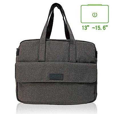 Obien 歐品漾 都會型 休旅商用 側背包 【可可棕】
