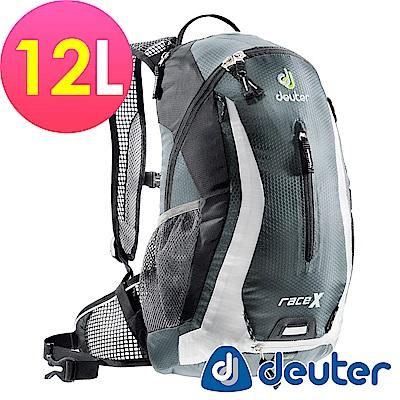 【ATUNAS 歐都納】德國DEUTER自行車背包/運動登山背包32123灰/白