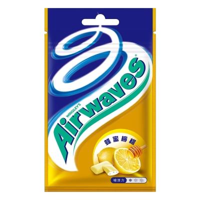 Airwaves 無糖口香糖蜂蜜檸檬口味(20粒)