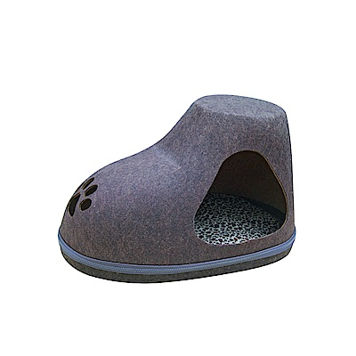MDOBI摩多比-貓丸家 犬貓用 拉鍊毛氈窩(長靴款)