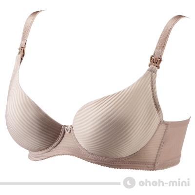 【ohoh-mini 孕婦裝】波挺UP‧直力棉哺乳內衣/孕婦內衣(可可)