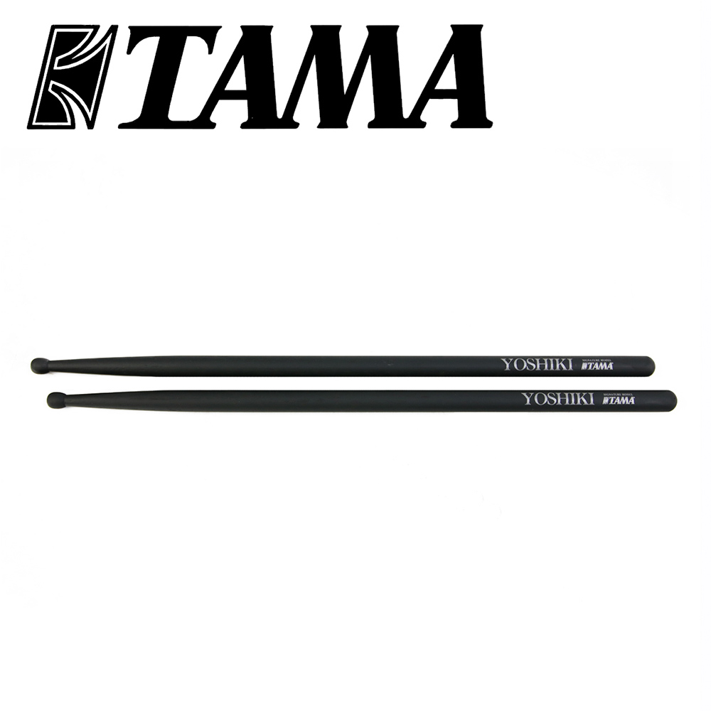 TAMA H-YKM Yoshiki 胡桃木簽名鼓棒