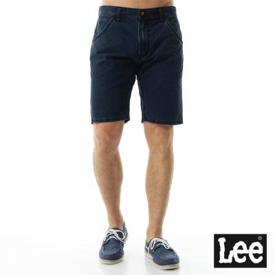 Lee 牛仔褲 牛仔短褲/RG-男款-藍
