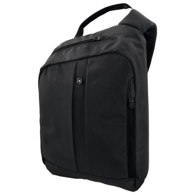 VICTORINOX瑞士維氏 TA 4.0 平版單肩背包-黑
