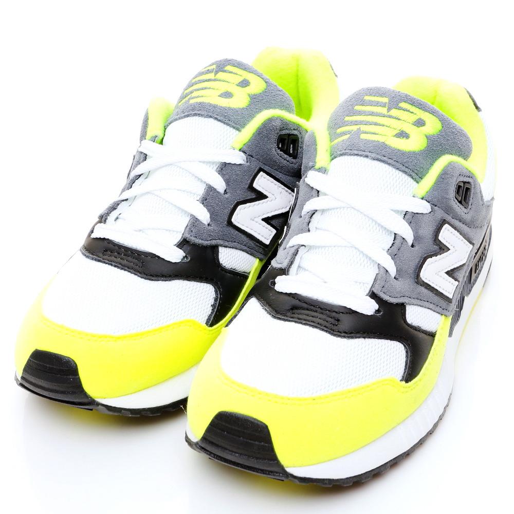 New Balance-530系列女復古慢跑鞋-螢光黃