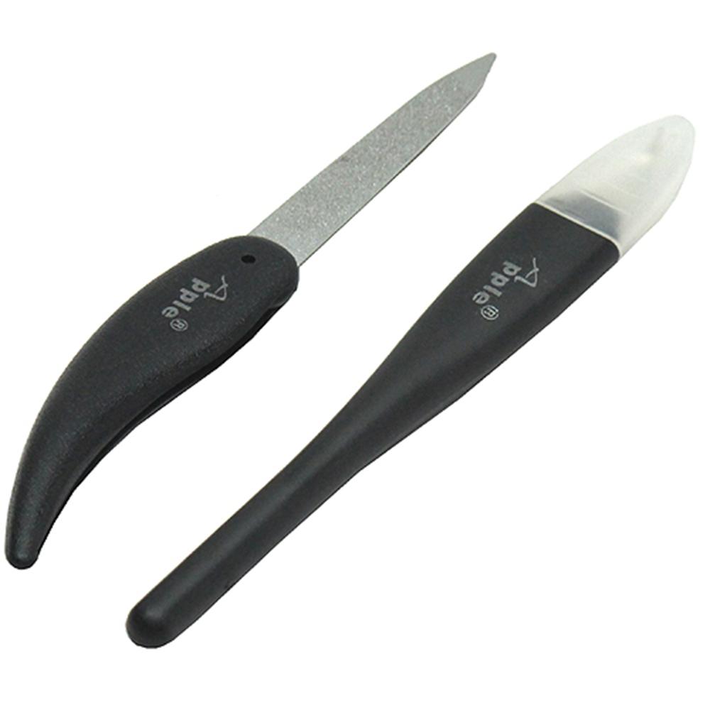 台灣製造折疊式不鏽鋼指甲銼刀ㄚ刀組(KS-2193)