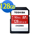 TOSHIBA 128GB UHS-I SDHC/SDXC 90MB高速傳輸記憶卡