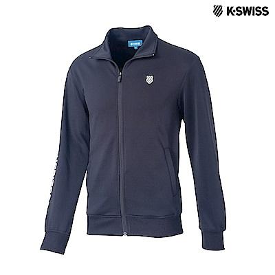 K-Swiss Interlock Jacket運動外套-男-黑