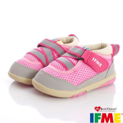 IFME健康機能鞋-超輕量預防矯正款-470022粉(寶寶段)