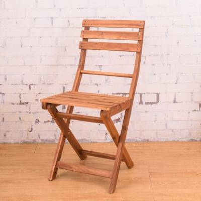 Bernice-德克實木休閒摺疊椅(2入組)