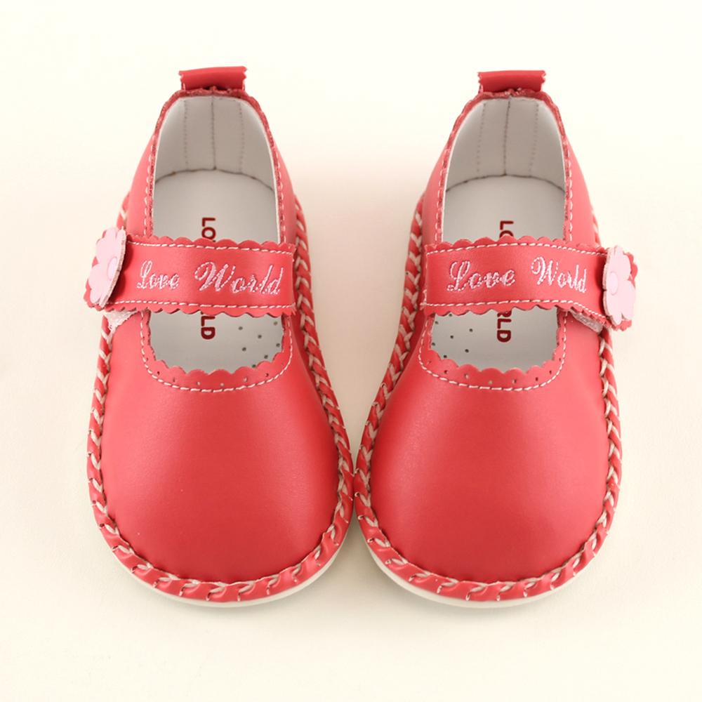 愛的世界 小淑女寶寶鞋/學步鞋-台灣製-