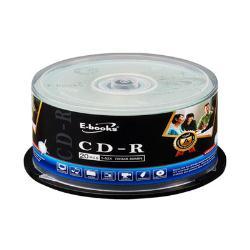 E-books 國際版 52X CD-R 20片桶