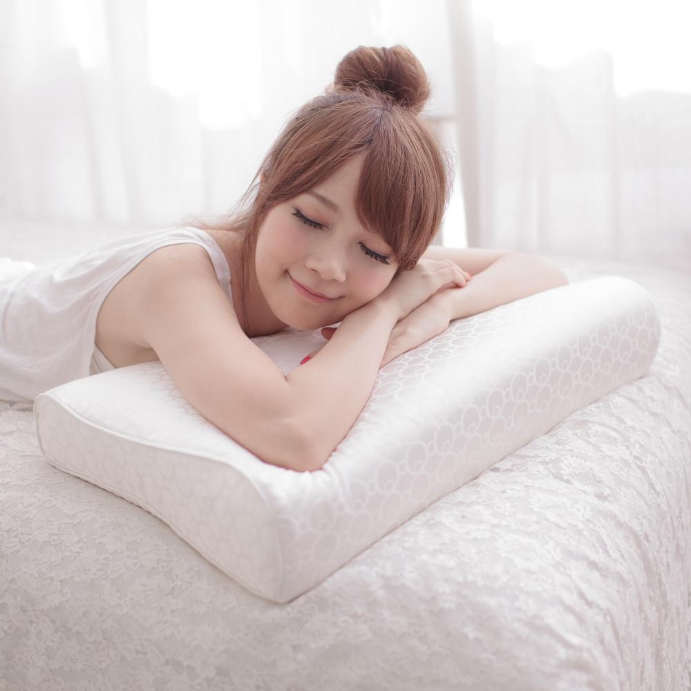 La Lune 台灣專利45顆黃金比率獨立筒工學記憶枕