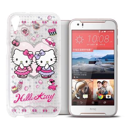 三麗鷗Hello Kitty貓 HTC Desire 830 夢幻空壓防震殼(T...