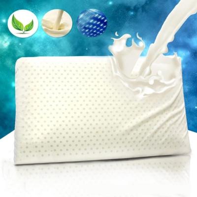 透氣孔天然乳膠枕