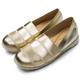 DIANA-輕-愛的-進口雙層彈性帶輕量平底鞋-金
