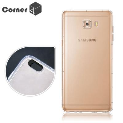 Corner4 Samsung C9 Pro  透明防摔手機空壓軟殼