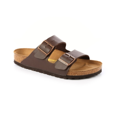 勃肯BIRKENSTOCK 051701。亞利桑那 經典二條拖鞋(咖啡色)