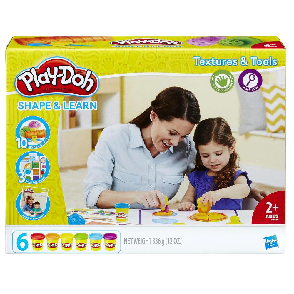培樂多Play-Doh 創意DIY黏土 感官認知學習遊戲組 B3408