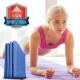 aroose 艾瑞斯-可折疊6mm雙面止滑加厚方便攜帶瑜珈墊-海軍藍(贈提袋) product thumbnail 1