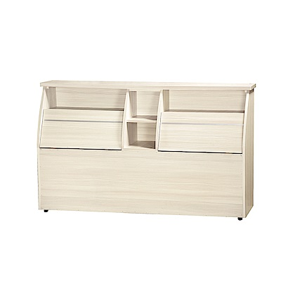品家居 姆士特3.5尺單人皮革床頭箱(四色)-109.5x30x92cm免組