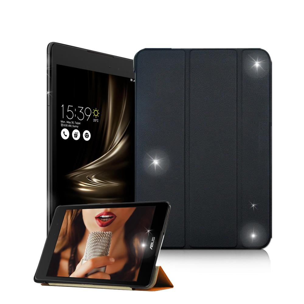 VXTRA ASUS ZenPad 3 8.0 Z581KL 經典皮紋三折保護套