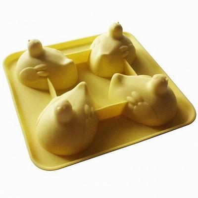 【iSFun】咕咕母雞*矽膠模型製冰盒/隨機色