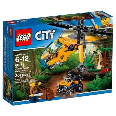LEGO樂高 城市系列 60158 叢林運輸直升機