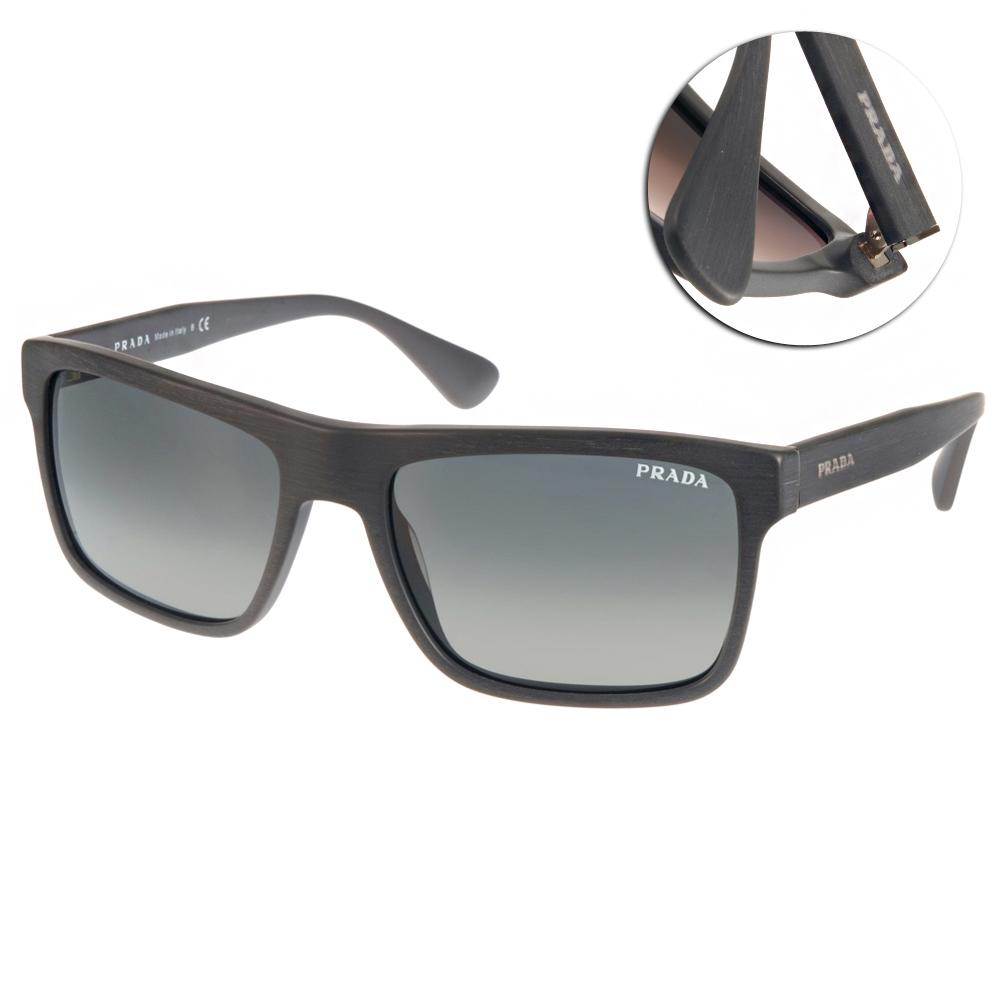PRADA太陽眼鏡 簡約百搭款/灰#PR01S TV42D0