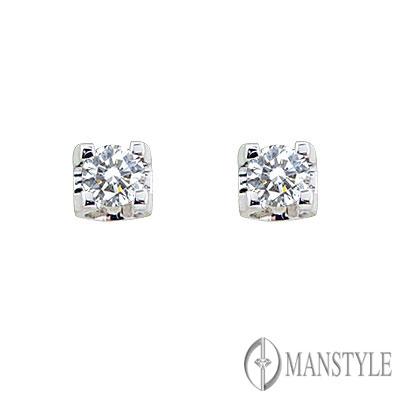 MANSTYLE「戀空」鑽石耳環