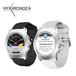 MyKronoz ZeTime 機械指針觸控智慧錶 -矽膠帶