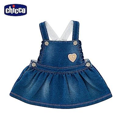 chicco-To Be Baby-針織牛仔吊帶裙 (12個月-4歲)