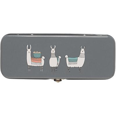 DANICA 復古文具盒(羊駝)