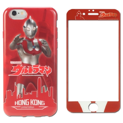 asbvc香港鹹蛋超人限定版iPhone6S(4.7)手機殼組合