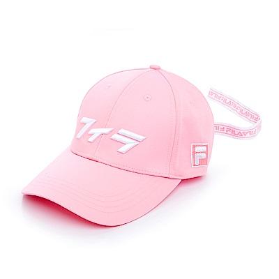 FILA 經典款六片帽-粉HTS-1001-PK