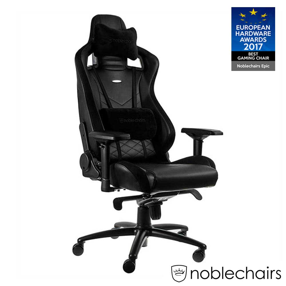 noblechairs 皇家 EPIC 系列電競賽車椅 (PU經典款) - 黑
