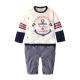 baby童衣 嬰兒棒球裝連身衣 休閒假3件式
