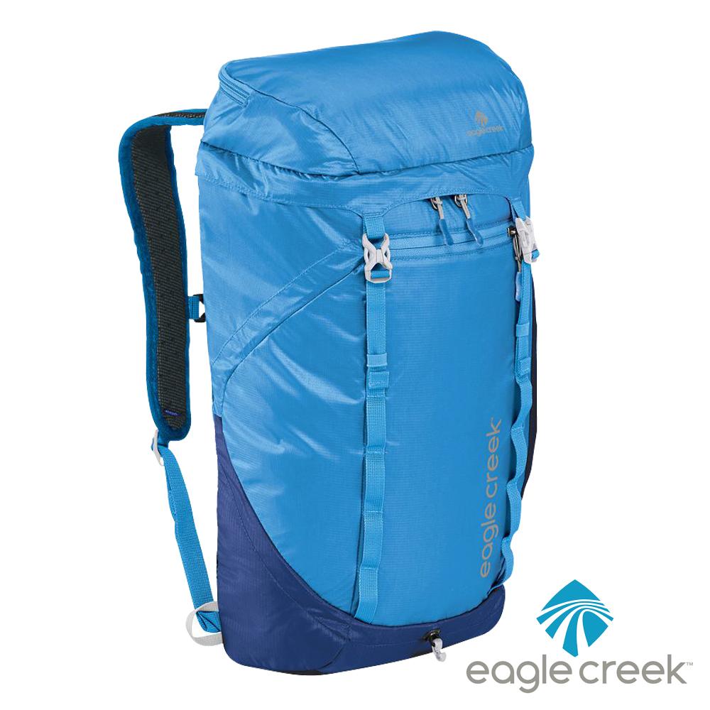 美國Eagle Creek RFID超輕量防撕裂雙肩後背包25L(北卡藍)