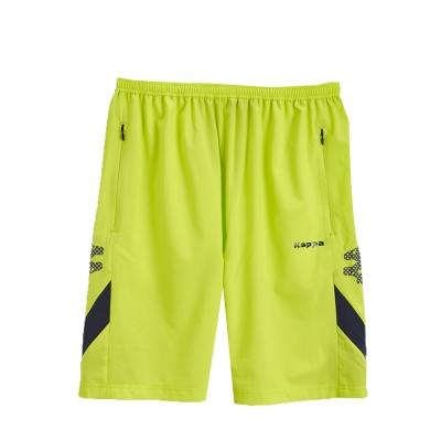 KAPPA義大利小朋友吸濕排汗KOOL DRY單層短褲 岩草綠