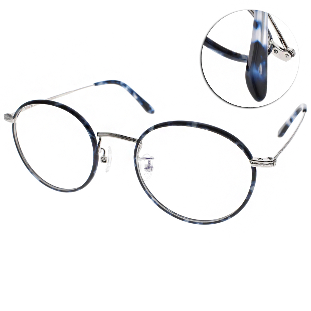 NINE ACCORD眼鏡 韓系質感圓框/棕-金#PLACO-INTO1 C02