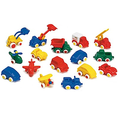 瑞典Viking Toys維京玩具-玩具小車 5 入組(款式隨機)