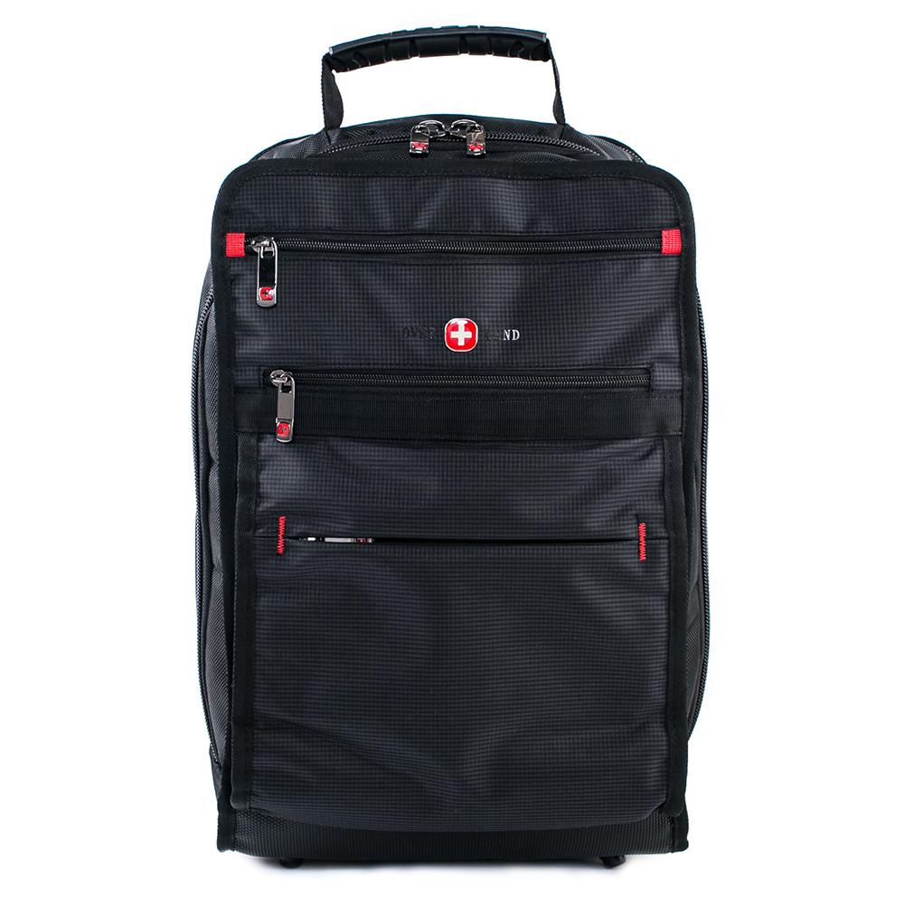 OVERLAND 美式簡約設計多夾層後背包-3063