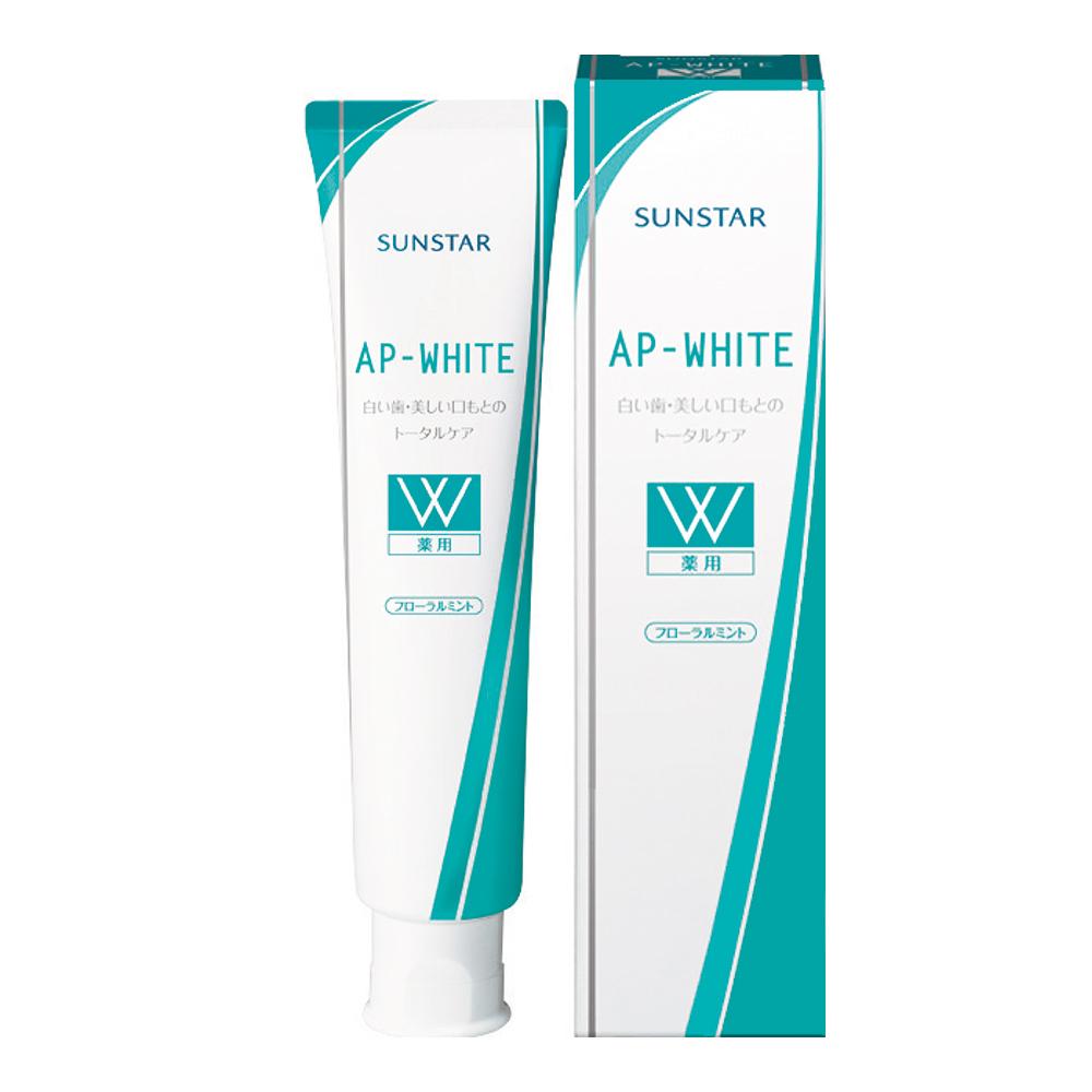 日本三詩達  淨白強化琺瑯質牙膏-玫瑰薄荷110g