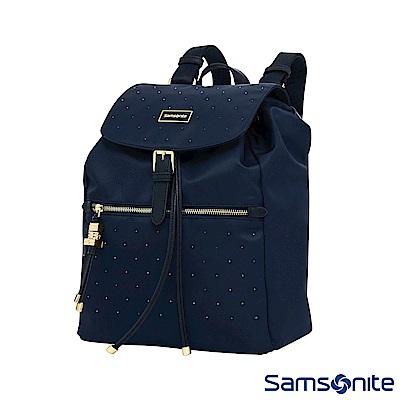 Samsonite新秀麗 璀璨水晶女用後背包(海軍藍)