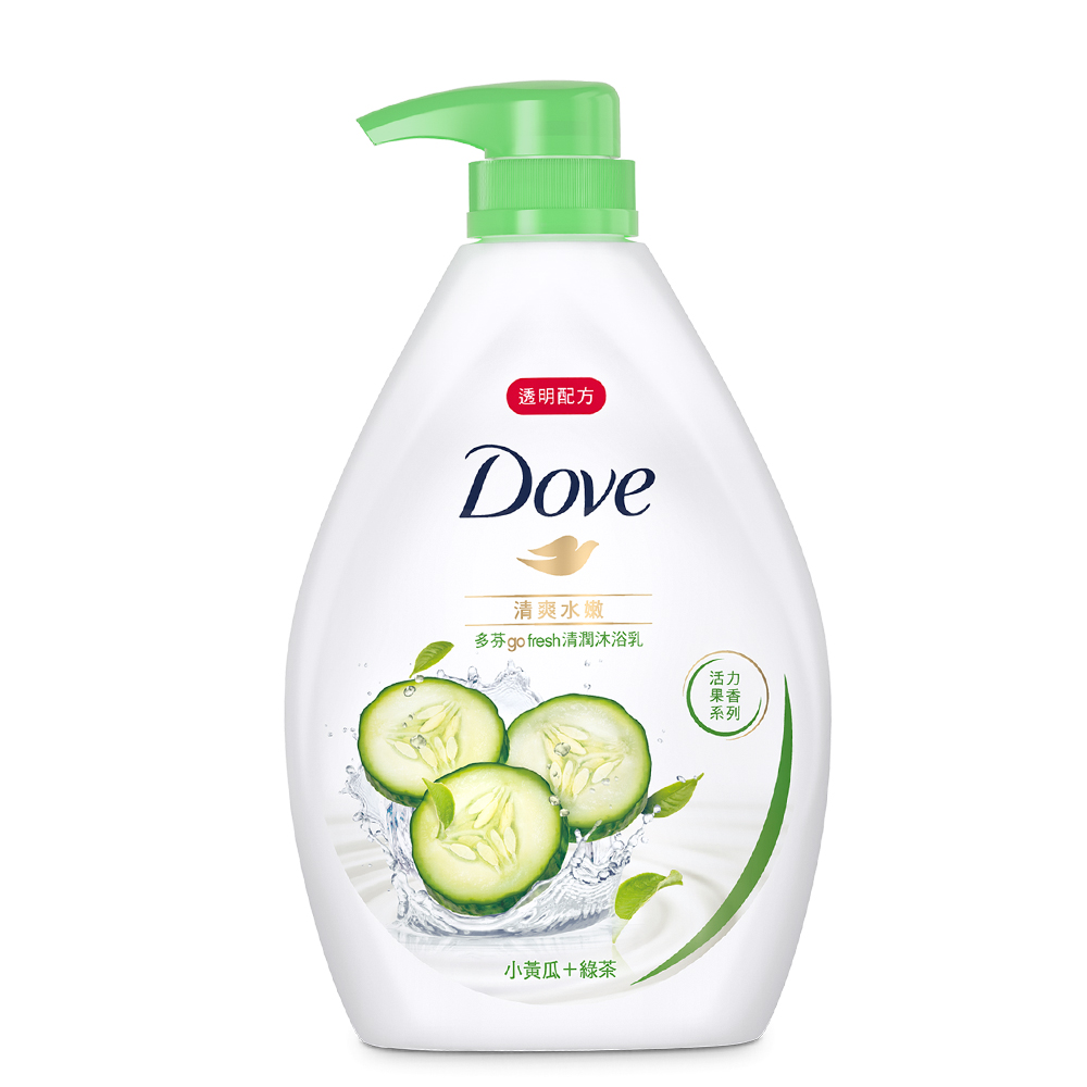 DOVE 多芬 清爽水嫩沐浴乳 1000ML product image 1