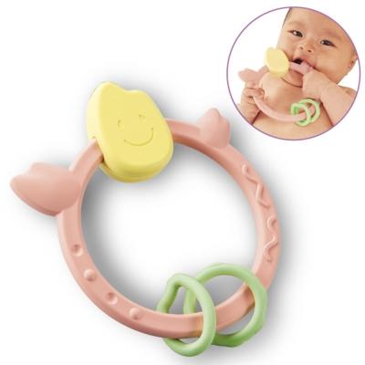 日本製People -彩色米的環狀咬舔玩具(日本製)