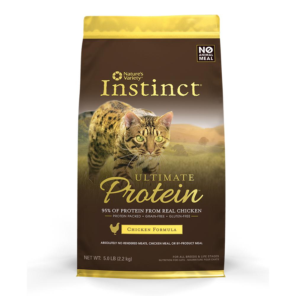 Instinct本能 極致鮮肉無榖雞肉全貓配方《10.5磅》